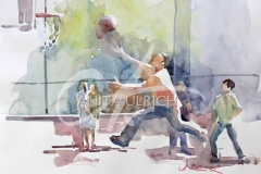 Basketballspieler, New York