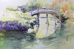 Die Brücke und ihr Spiegelbild, Takamatsu