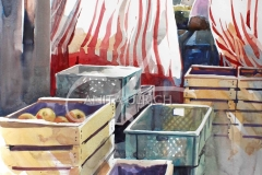 Die Rückseite des Marktes, Nürtingen