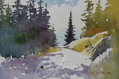 Wanderweg im Lechtal