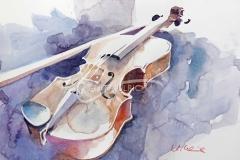 Geige, 41 x 31 cm