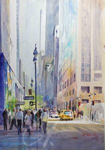 Strasse in New York