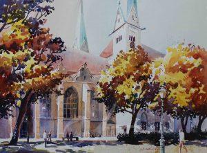 Herbst am Dom, Augsburg