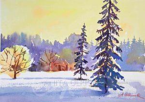 Winter im Siebentischwald