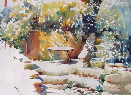 Veranda in Bonnieux, Provence