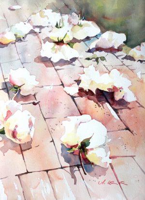 Ein Weg voll Rosen